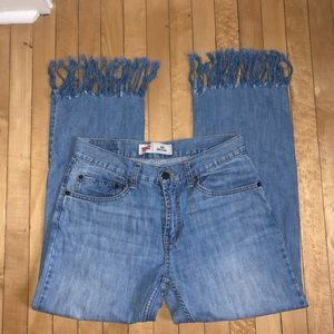 Levi's Fringe Jeans